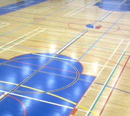 Sports Halls and Floor Refurbishment